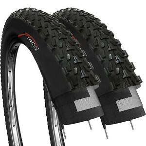 2 x Fincci MTB Mountain Hybrid Bike Bicycle Offroad Tyre 26 x 2.35