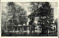 WALSRODE Niedersachsen alte Postkarte ~1950 Partie DAG-Ferienheim Außenansicht