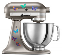 Kitchen Aid Mixer Beautiful Butterfly Artistic Full Color Post Impressionist