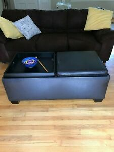"""cafe brown sofa/couch-75"""" long, excellrnt condition"""