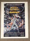 Moonraker 1979 James Bond 007 Roger Moore Original Movie Poster Daniel Goozee