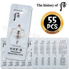The history of Whoo Whitening & Moisturizing Cream 1ml x 55pcs (55ml) Sample