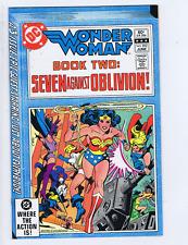 Wonder Woman #292 DC 1982