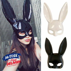 Party Face Mask Rabbit Bunny Ears Unisex Easter Accessory