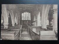 Yorkshire: York, Goodramgate, Holy Trinity Church Interior c1917