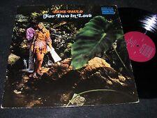 Scarce EXOTICA/ Hawaiiana LP RENE PAULO For Two In Love Minidress Cover Fun 60s!
