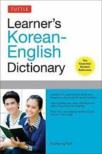 Tuttle Learner's Korean-English Dictionary (Paperback or Softback)