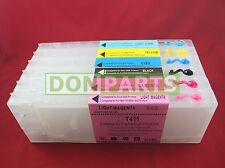 6 pack Refillable Ink Cartridges for EP Stylus PRO 7500 7000 300ml NEW