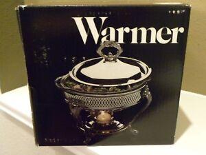 Silverplated Food Warmer Leonard