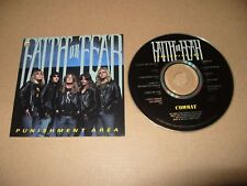 Faith Of Fear Punishment Area 11 Track cd 1989 cd is Excellent/Punchhole on Book