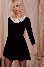 Love, Courtney By Nasty Gal Roxy Dress medium black