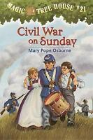 Civil War on Sunday (The magic tree house) by Osborne, Mary Pope, NEW Book, FREE