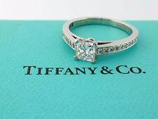 Tiffany & Co Platinum 0.50ct F VVS2 Diamond +0.15ct GRACE Engagement Ring