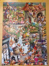 Piatnik Story of Wine 1000 Piece Jigsaw Puzzle Francois Ruyer Cartoon 535246
