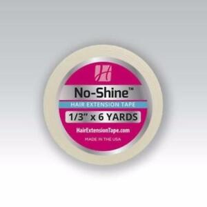 """The Walker No Shine Hair Extensions Tape 1/3"""" x 6 Yards Roll For wig Extensions"""