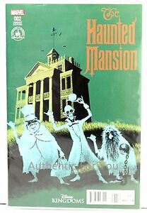 2016 Disney Kingdoms Haunted Mansion Comic Davis Variant Cover Marvel Issue 002