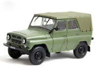 UAZ-469 USSR Soviet 4-door SUV Off-road Military Car 1:43 Scale Diecast Model