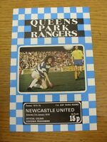 03/01/1976 Queens Park Rangers v Newcastle United [FA Cup] (Team Changes). Footy