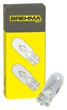 10x Brehma W5W 12V 5W Standlicht Kennzeichenlicht Autolampen T10 Glassockel