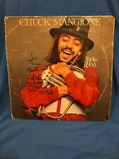Chuck Mangione Feels So Good Signed **5** Times Autograph Album