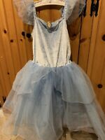 7 / 8 Cinderella Princess Costume Disney Store Deluxe dress Girls outfit medium