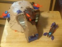 Starriors Armored Cobra Battle Station set w/ accessories (incomplete) - Tomy