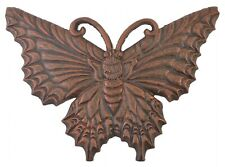 Decorative Cast Iron Yard & Garden Stepping Stone Butterfly Bronze Butterflies