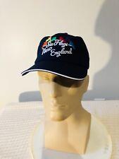 SIX FLAGS NEW ENGLAND Baseball Hat Cap NEW NWT Strapback