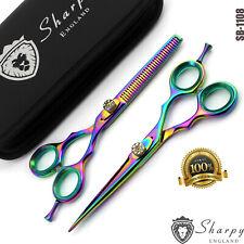 Multi Droit Main Barbier Coupe Cheveux Effiler Ciseaux Coiffure Set - Cisailles