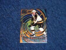 JOE THORNTON BRUINS 1997-98 REVOLUTION ICE BLUE PARALLEL #11 (SB-3)