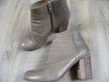 ROSSANO BISCONTI stylische Stiefeletten beige Ticino Nieten Gr. 39,5 TOP BI1217