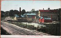 Watertown, CT 1912 Postcard: A. N. Woolson Novelty Factory - Connecticut Conn