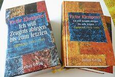 Victor Klemperer.Ich will Zeugnis ablegen bis zum letzten. .2 Bände mit Schuber