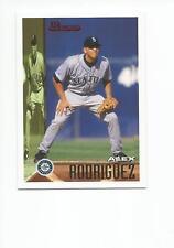 ALEX RODRIGUEZ 2005 Bowman Throwback Baseball card #95-AR Seattle Mariners NR MT