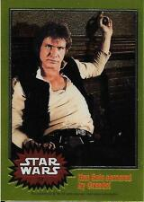 1999 Topps Star Wars Chrome Archives #11 Han Solo Cornered By Greedo!