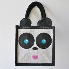 Jute Panda Bag
