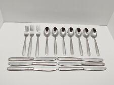 Oneida Jordan Stainless Flatware 16 Piece Lot Forks, Knives, Spoons
