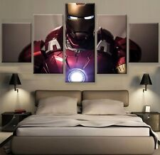 Modern Abstract Oil Painting Wall Decor Art Poster HD Print - iron Man 5pcs