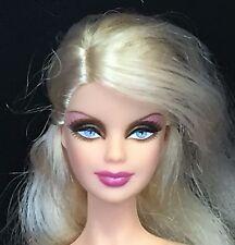 Barbie Holiday 2009 Model Muse Mackie Blonde Hair Flawed Nude Doll OOAK Play