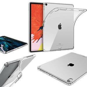 iPad Silicone Gel Case TPU soft rubber clear gel case shield protect Apple iPad