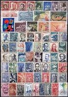 Francia - Lotto di 66 francobolli - Usati
