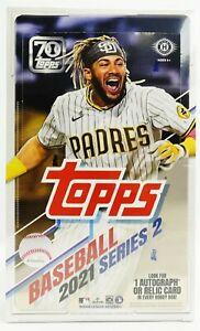 2021 Topps Series 2 Factory Sealed Hobby Baseball Box