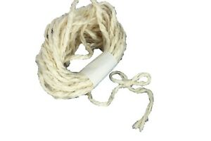 """IVORY 1/8"""" Wide 2-Ply Coarse and Rough Jute Twine 10 Yards Natural Themed Events"""