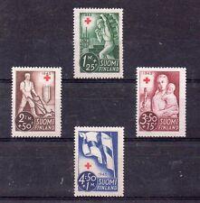 Finlandia Cruz Roja Serie del año 1945 (DH-541)