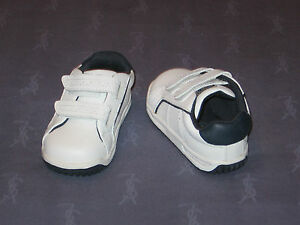 NWOB Stride Rite SHORTY H & L White / Navy Leather