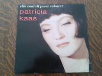45 tours patricia kaas elle voulait jouer cabaret