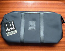 AUTHENTIC DUNHILL BLACK TOILETRY/ WASH/ TRAVEL BAG BNWT