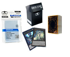 50 YuGiOh! Cards Pack with HOLO XYZ + Rares + Deck Box + Sleeves