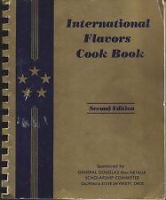 CHICO CA 1972 CALIFORNIA STATE UNIVERSITY ETHNIC COOK BOOK INTERNATIONAL FLAVORS