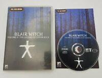 Blair Witch Volume II (2): The Legend of Coffin Rock - PC CD-ROM - Free Fast P&P